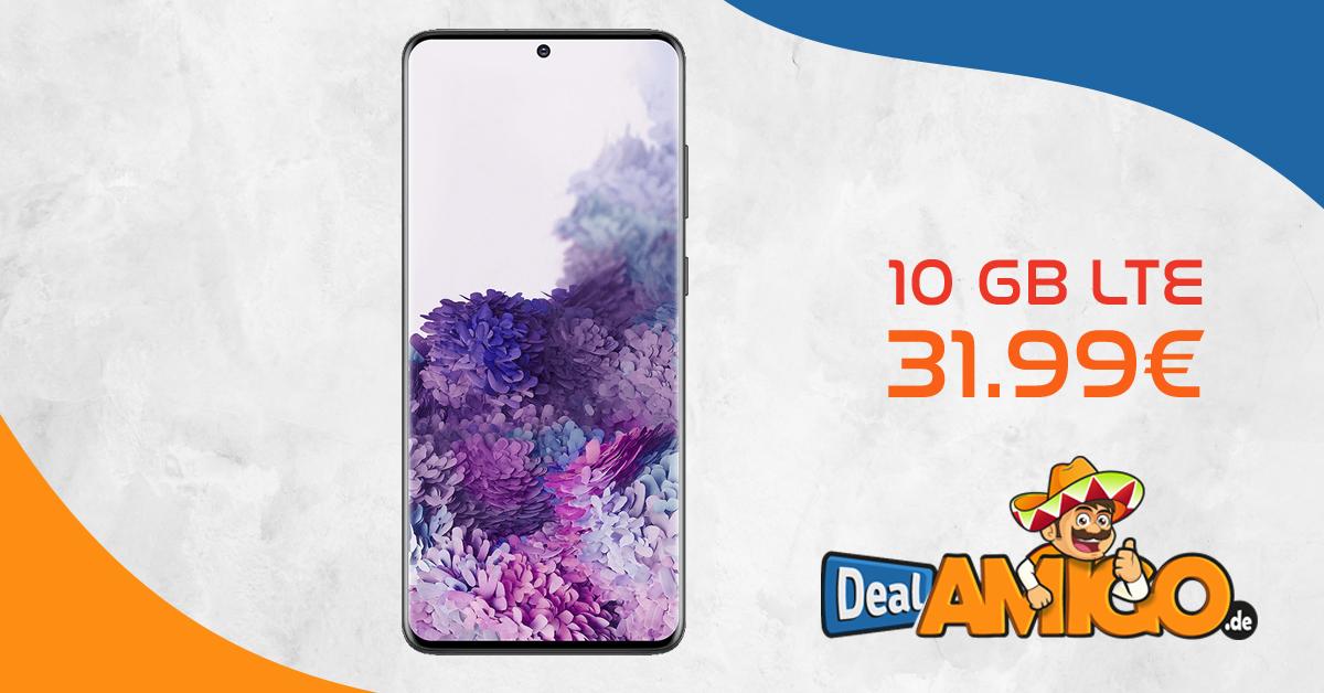 SAMSUNG Galaxy S20+ [S20PLUS] mit 10 GB LTE im Telekom oder Vodafone Netz nur 31,99€ monatlich