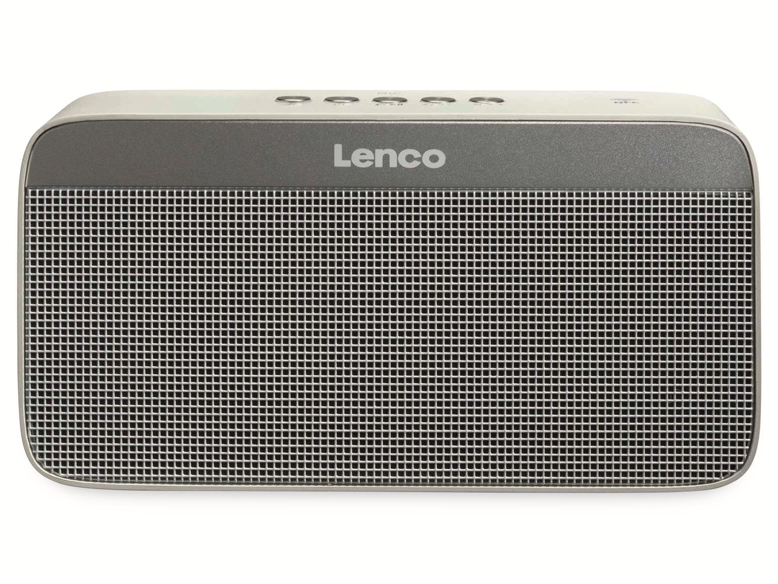 Bluetooth Lautsprecher LENCO BT-200 Light, 2x5 W, Bluetooth, LED
