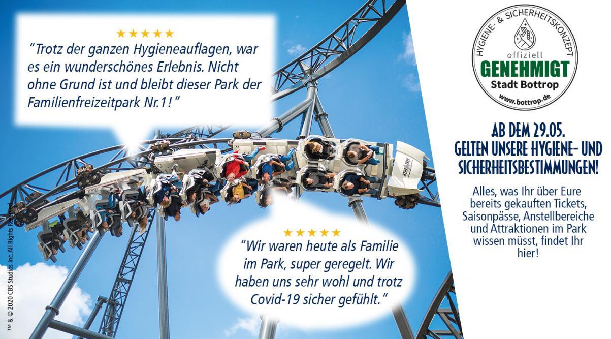 Movie Park Germany - Tagesticket bis zu 41% sparen*