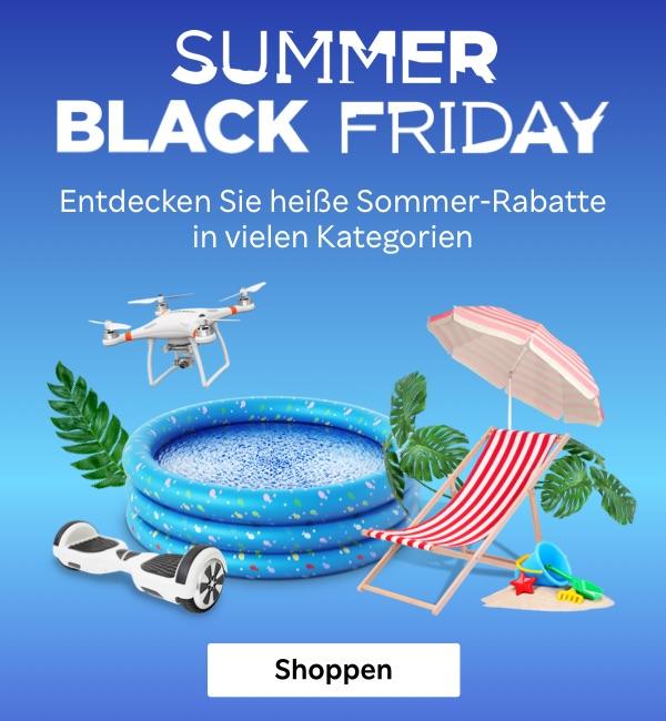 """""""Summer Black Friday"""" auf Rakuten.de mit bis zu 30% Rabatt"""