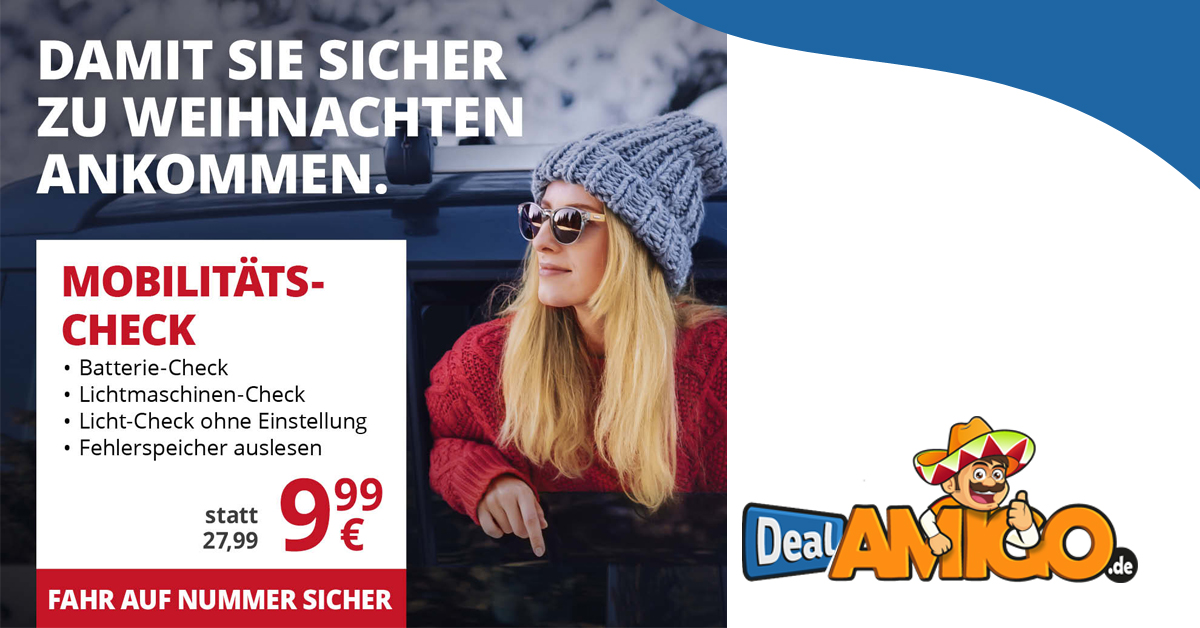 A.T.U Mobilitäts-Check nur 9,99€